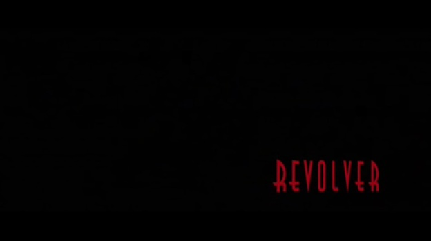 Revolver title screen