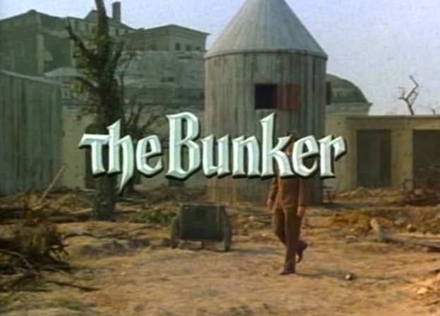 The Bunker (1981) title screen