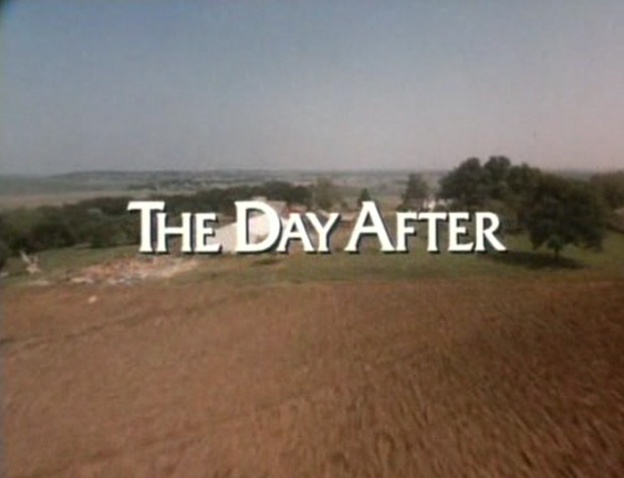 The Day After title screen
