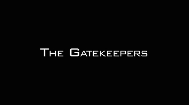 The Gatekeepers title screen