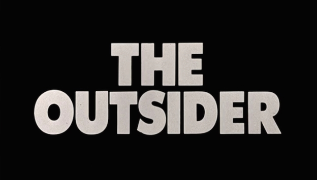 The Outsider title screen (1979)