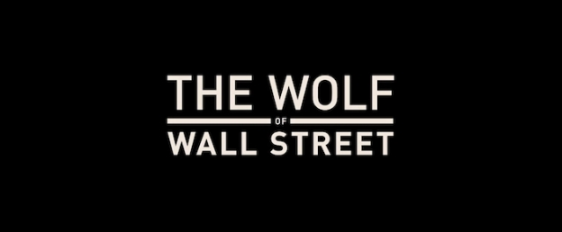 The Wolf Of Wall Street title screen
