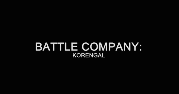 Battle Company: Korengal title screen
