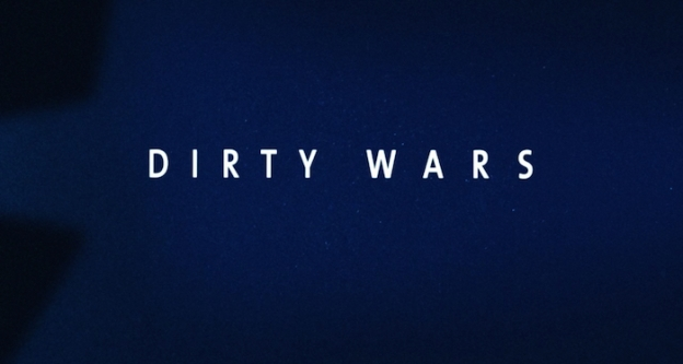 Dirty Wars title screen
