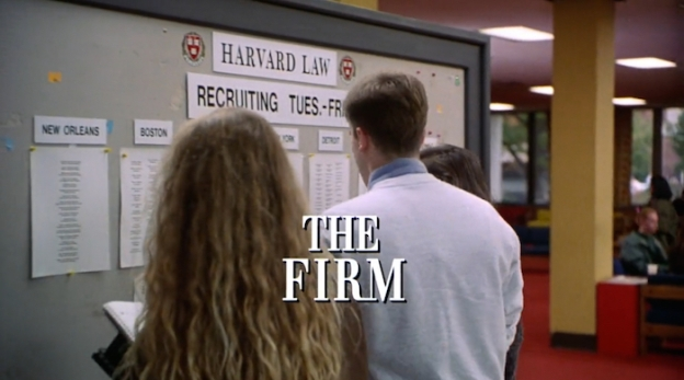 The Firm (1993) title screen