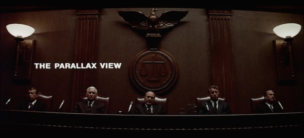 The Parallax View title screen