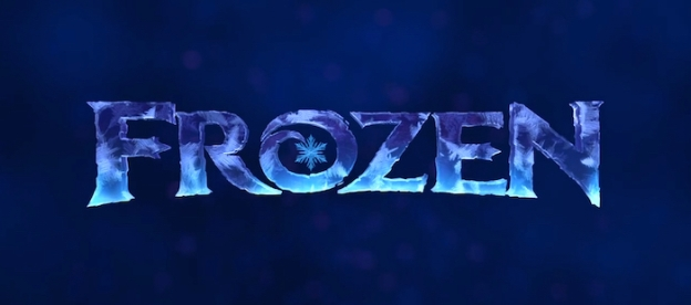 Frozen title screen