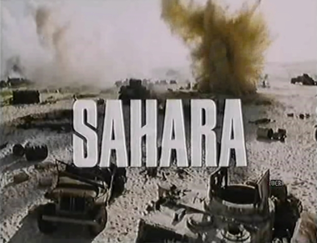 Sahara title screen