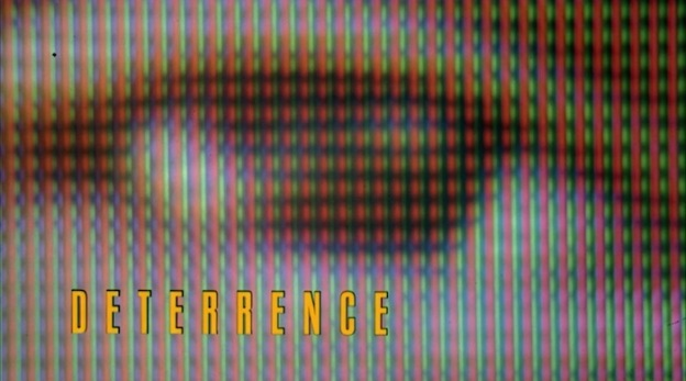 Deterrence title screen