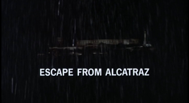 Escape From Alcatraz title screen