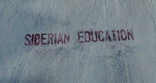 Siberian Education title screen