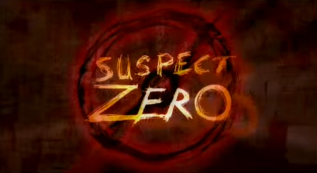 Suspect Zero title screen