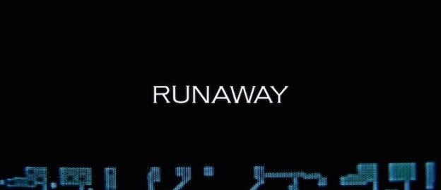 Runaway title screen