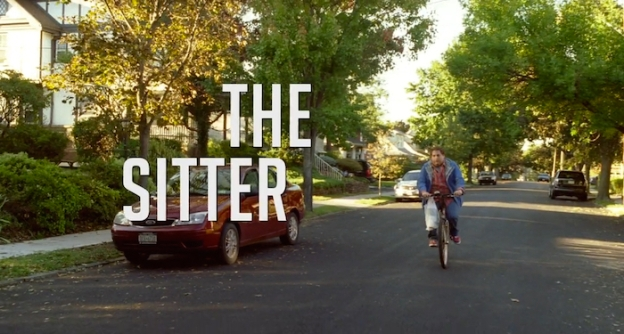 The Sitter title screen