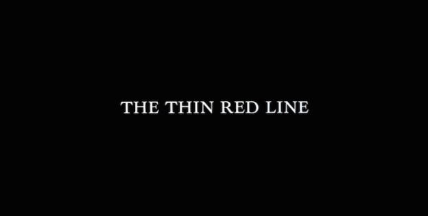 The Thin Red Line title screen