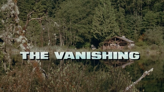 The Vanishing (1993) title screen