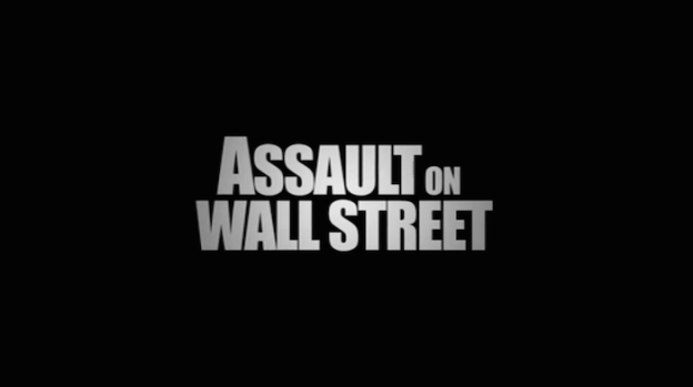 Assault On Wall Street title screen