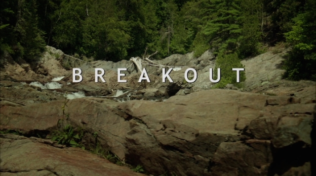 Breakout title screen