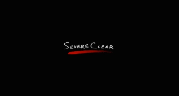 Severe Clear title screen