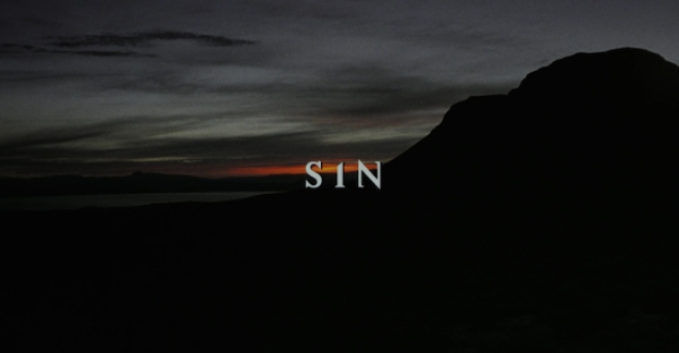 Sin title screen