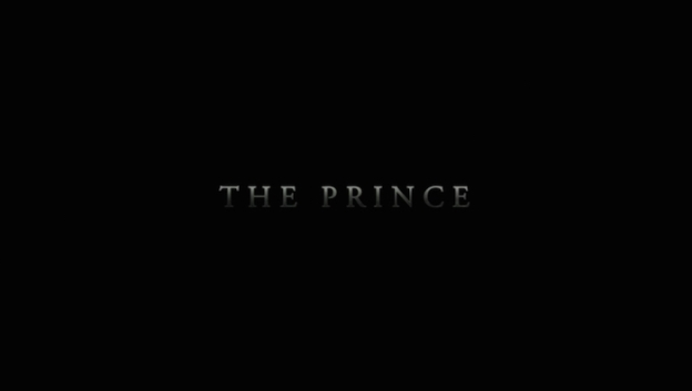 The Prince title screen
