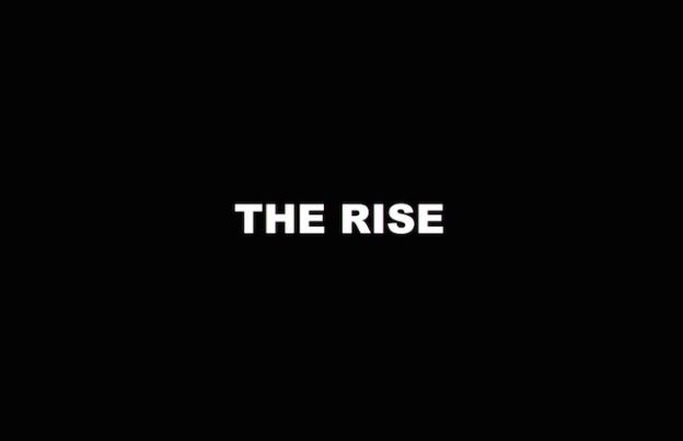 The Rise title screen