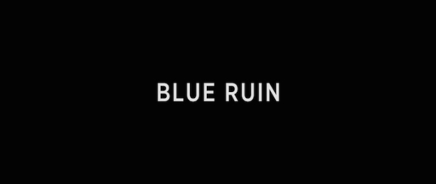 Blue Ruin title screen