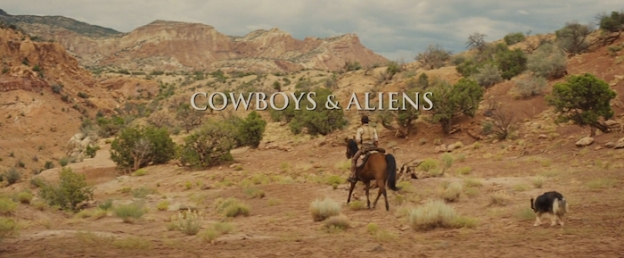 Cowboys & Aliens title screen