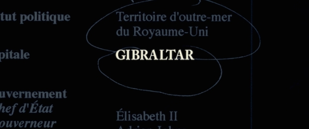 Gibraltar title screen