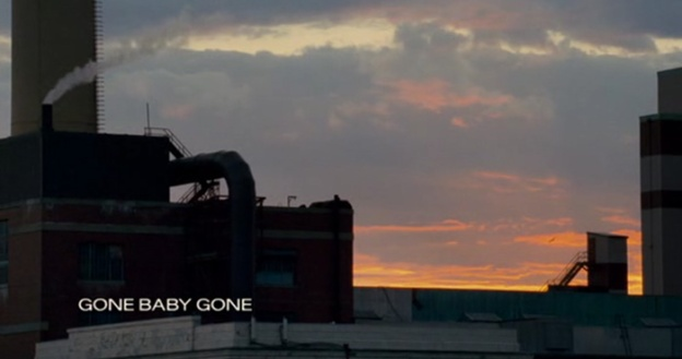 Gone Baby Gone title screen