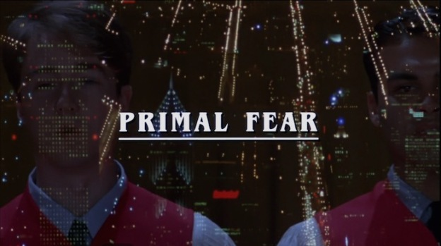 Primal Fear title screen