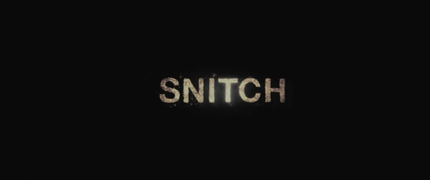 Snitch title screen