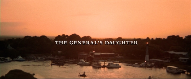 The General's Daughter title screen