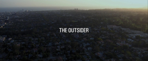 The Outsider (2014) title screen