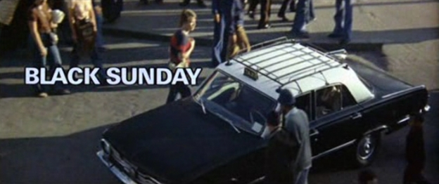 Black Sunday title screen