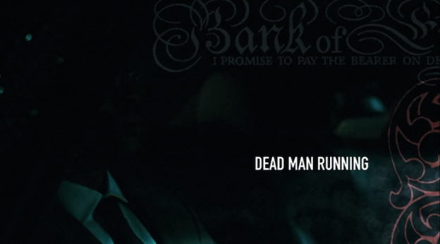 Dead Man Running title screen