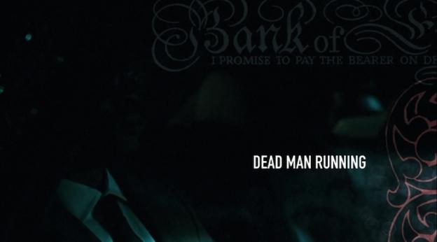 Dead Man Running title screen