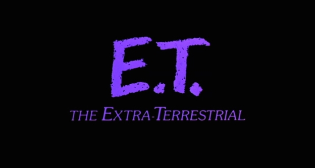 E.T. The Extra Terrestrial title screen