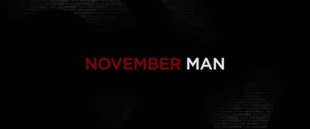 The November Man title screen