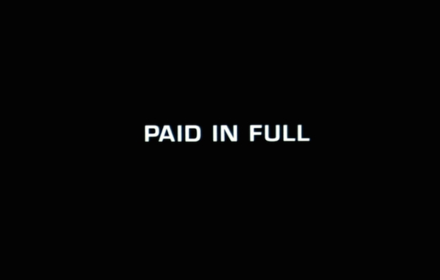 Paid In Full title screen