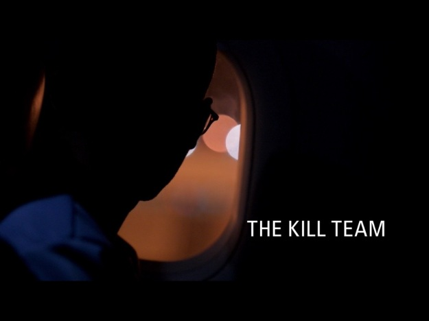 The Kill Team title screen