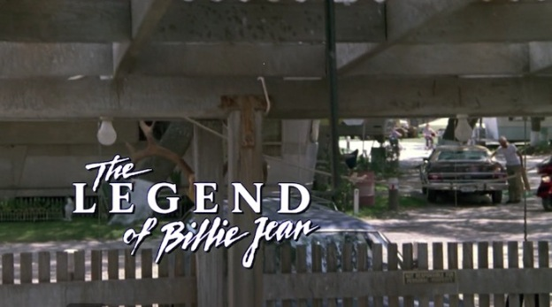 The Legend Of Billie Jean title screen