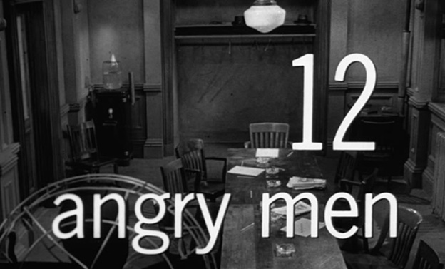 12 Angry Men title screen