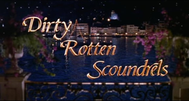 Dirty Rotten Scoundrels title screen