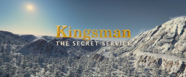 Kingsman: The Secret Service title screen