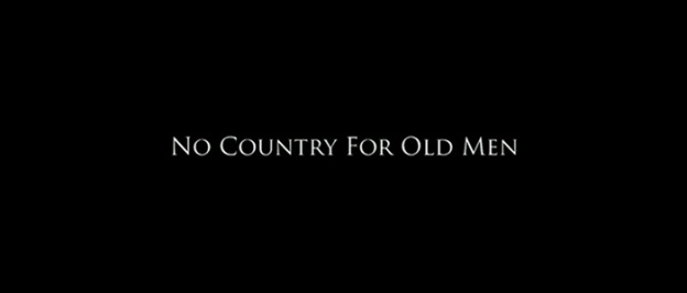 No Country For Old Men title screen