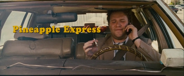 Pineapple Express title screen