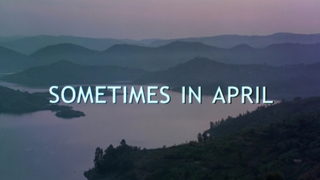 Sometimes In April title screen