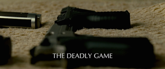 The Deadly Game title screen