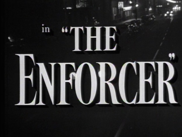The Enforcer title screen